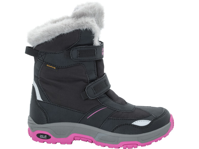 Jack Wolfskin Snow Flake Texapore Winter Boots Girls black